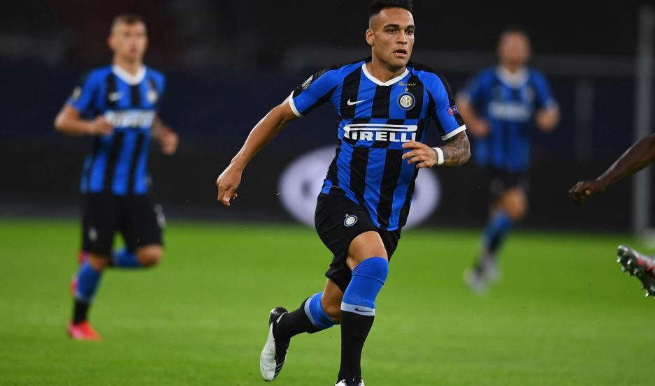 Martínez es uno de los puntos altos de Inter de Italia, que sueña con meterse hoy en las semifinales.