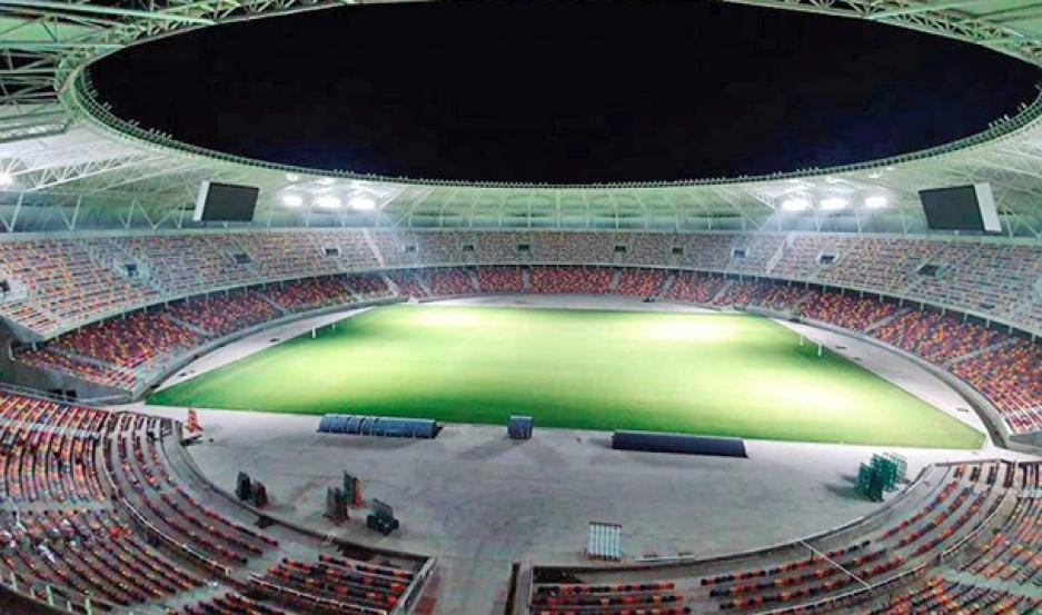 ORGULLO. El Estadio Único tendrá el privilegio de recibir a las selcciones de Chile, Uruguay y Paraguay el año que viene por la Copa América.
