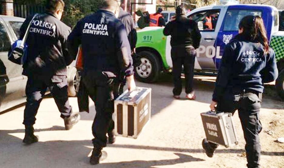 Tras lo sucedido, se dio intervención al personal de la Policía Científica de la Policía Bonaerense.
