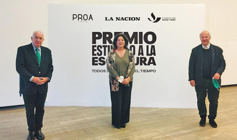 Los representantes de la Fundación Bunge y Born, Fundación Proa y Diario La Nación realizaron una amplia convocatoria.