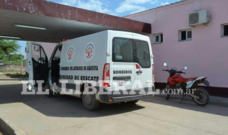 Las mujeres lesionadas fueron trasladadas a la guardia del Hospital Zonal de Añatuya.