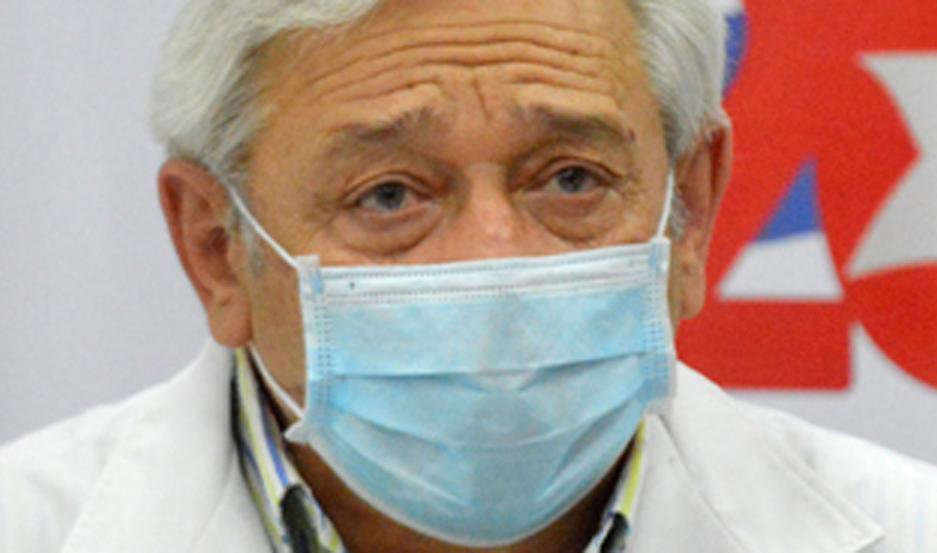 El subsecretario de Salud se refirió al caso del fallecimiento de un paciente por Covid en un centro privado.