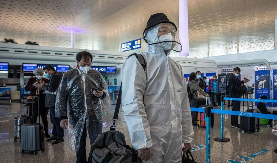 Wuhan recibió el primer vuelo internacional.