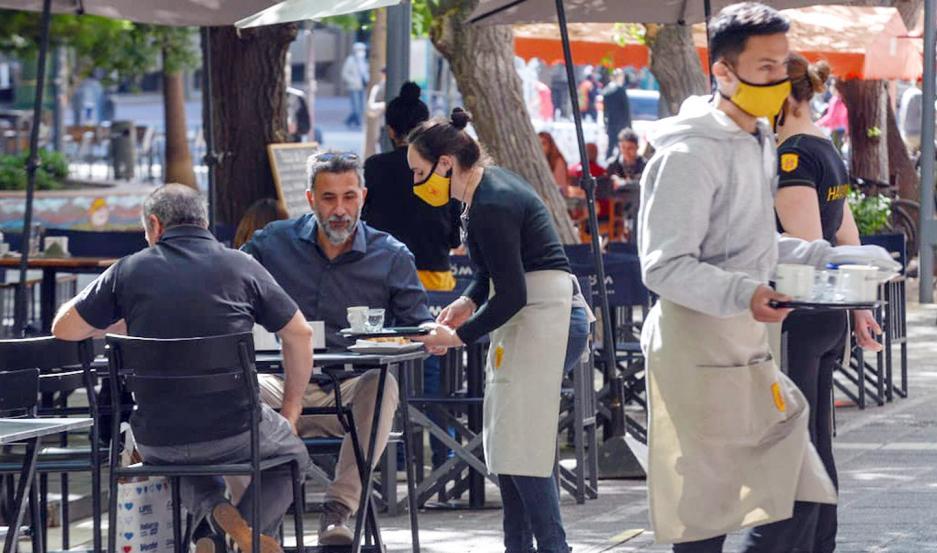 COMERCIO. La actividad comercial en Mendoza está en funcionamiento con protocolos.