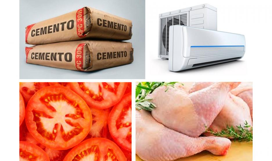 Hay escasez de determinados materiales de construcción y subas en alimentos, como las carnes y algunas verduras y frutas.