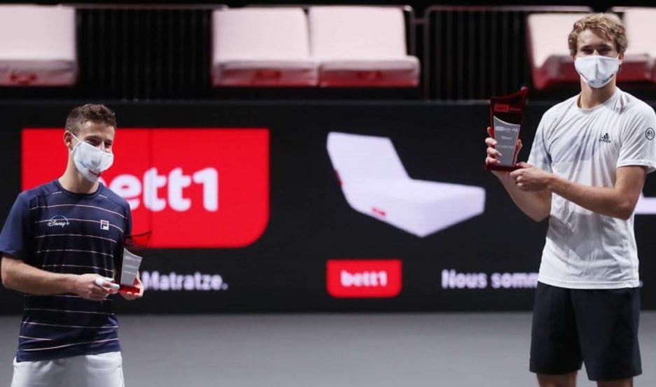 Schwartzman no tuvo chances ante Zverev y cayó en la final del ATP 250 de Colonia