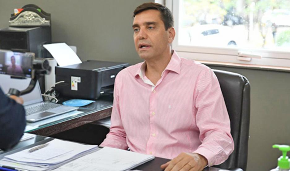La invitación estuvo a cargo del intendente Jorge Mukdise.