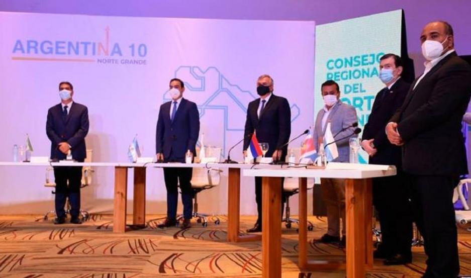 Tras el acto, Fernández y los gobernadores del Norte Grande se reunirán para debatir sobre obras de infraestructura para la región.