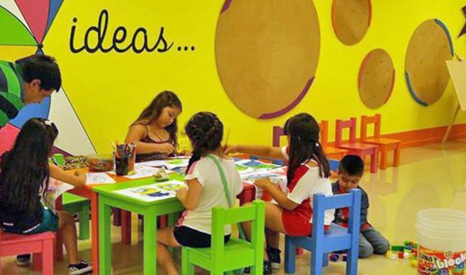 Los talleres están dirigidos a niños desde los 5 años y hasta los 12, con atractivas propuestas.