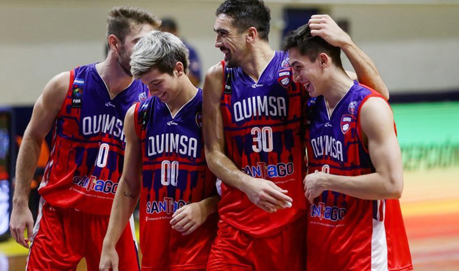 Quimsa se encamina al bicampeonato en la Champions League, tras ganar los dos partidos de la segunda burbuja del grupo B en Chile.