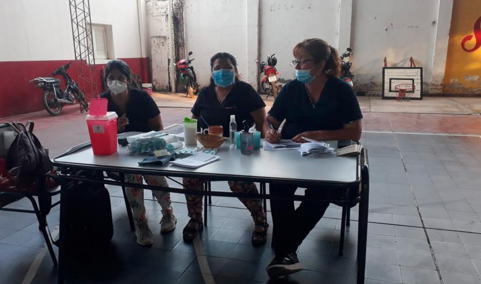 Durante toda la semana se mantendrá la vacunación en el resto de los departamentos de la provincia.