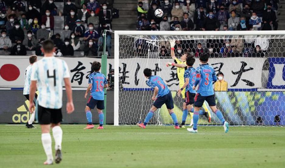 Argentina venció a Japón