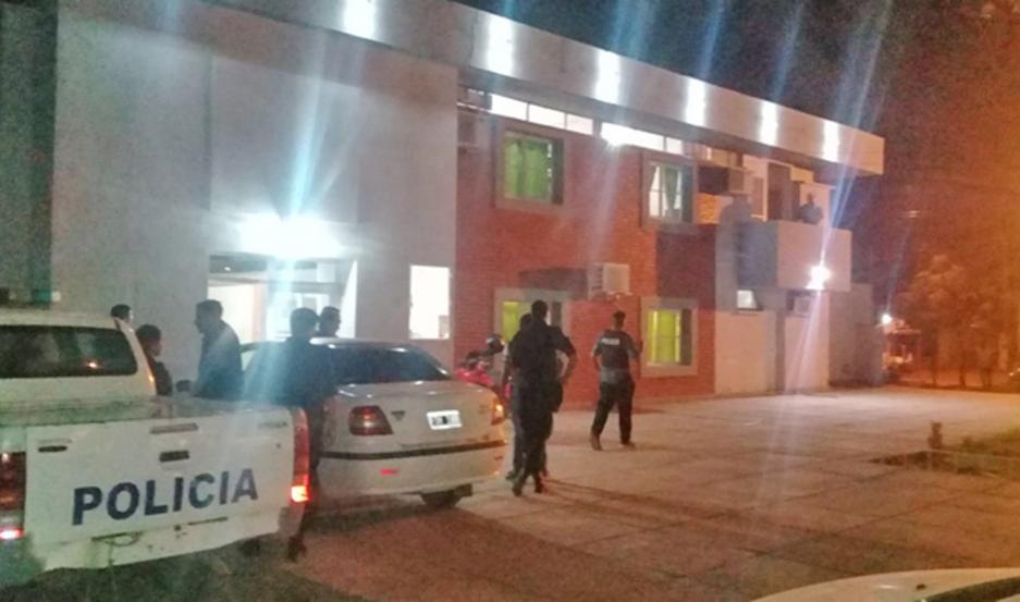El policía fue apresado por personal de la Seccional 22. Eglys Risso Patrón, querellante.