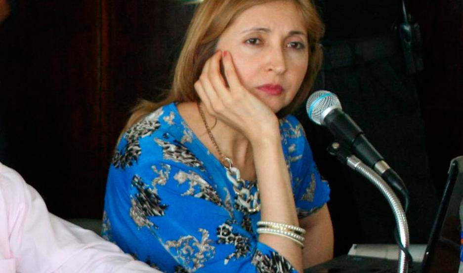 Roxana Cejas Ramírez, magistrada de la ciudad de Frías.