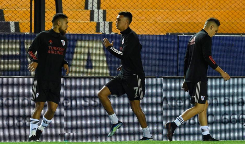 Suárez no juega en River desde el 0-0 ante Arsenal. Se perdió los cotejos ante Atlético Tucumán (Copa Argentina) y Colón.