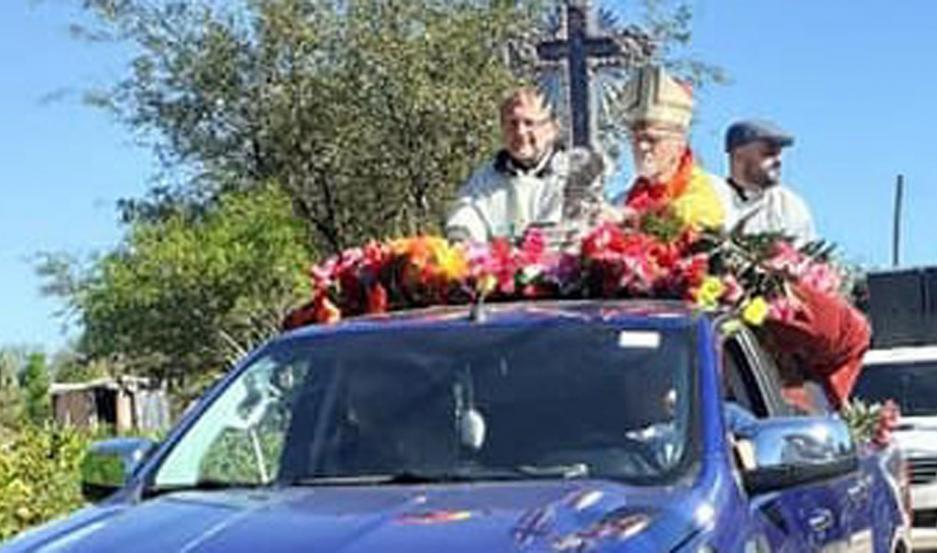 Mons. Bokalic lamentó que debido a las restricciones, nuevamente los fieles no podrán llegar a la Villa.
