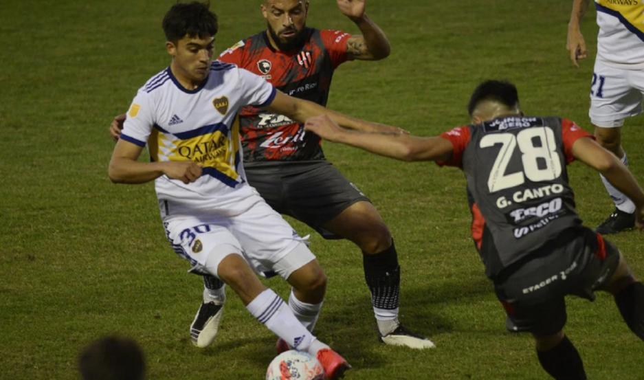 Boca Juniors perdió por 1 a 0 frente a Patronato
