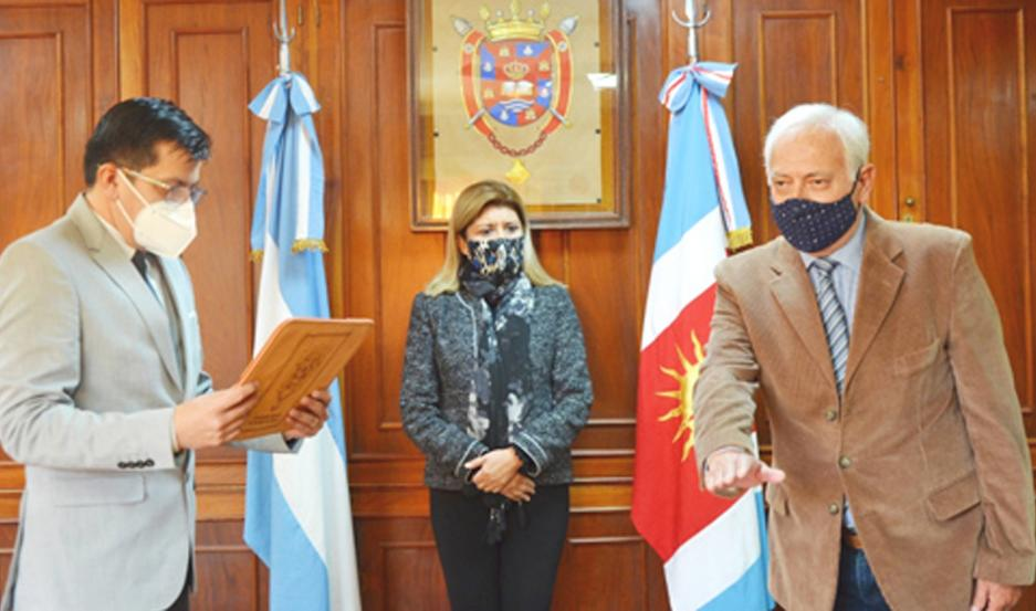 El doctor Curioni asumió el cargo que quedara vacante tras el fallecimiento de la Dra. Josefina Fantoni.