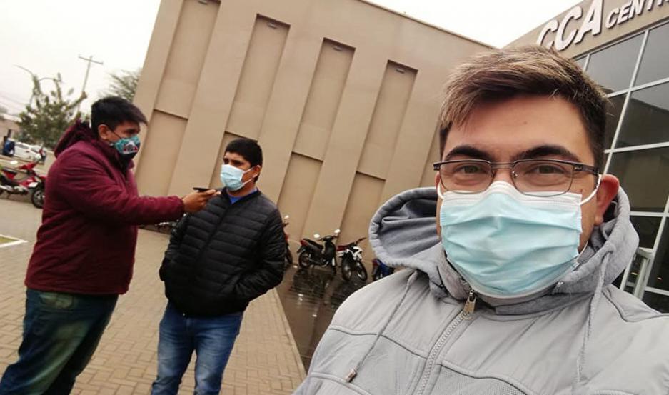 Todos los integrantes del sistema de salud trabajan al límite, por lo que piden extremar los cuidados para frenar los contagios.