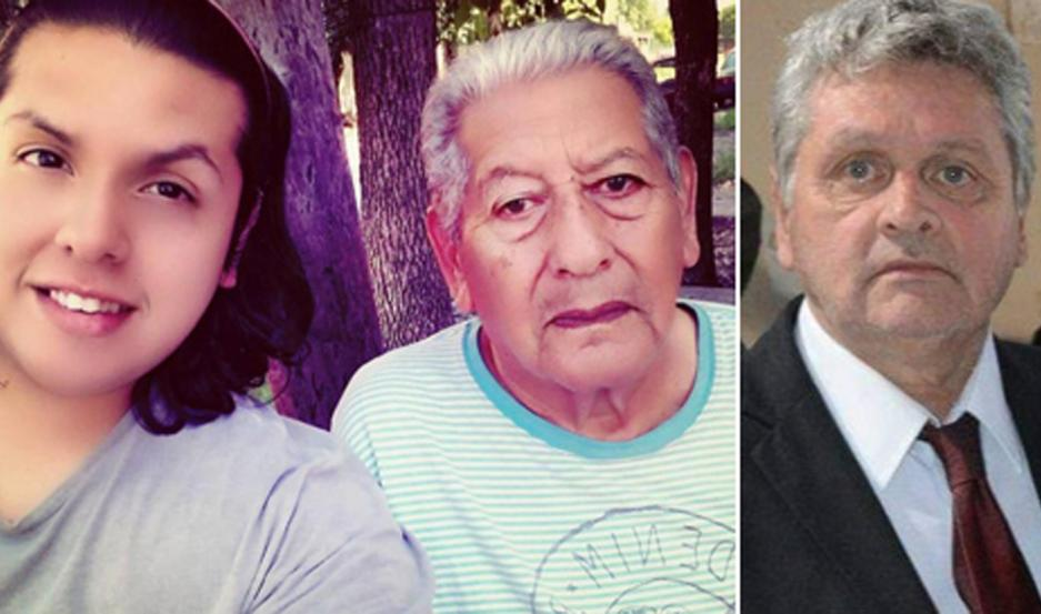 El funcionario comunal había perdido a su padre el domingo pasado y a su hermana hace unos meses. Oller -tercero a la derecha fue el primer profesor de Educación Física de Beltrán.
