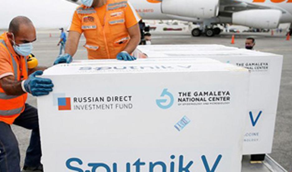 Llegan además nuevas vacunas rusas.