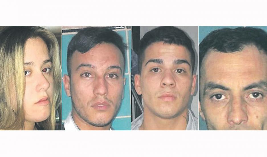 Los jóvenes cayeron presos, de regreso a su provincia. Un arma de fuego los delató.