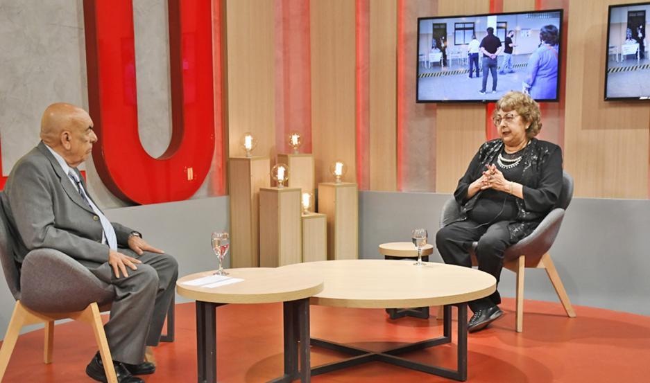 """Sayago dialogó con Rogelio Llapur en el programa """"Libertad de Opinión"""" sobre las elecciones."""