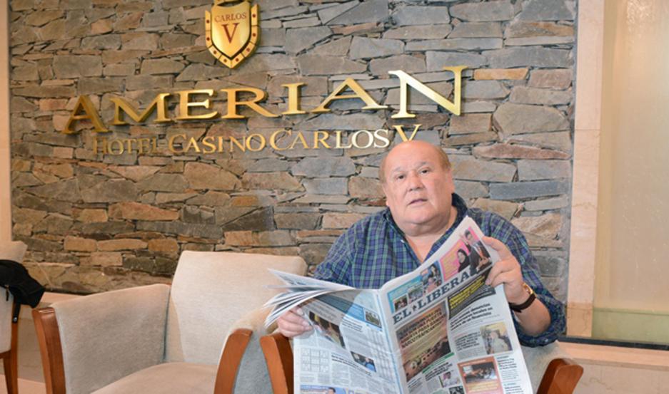 El cantante santiagueño habló en exclusiva con EL LIBERAL.