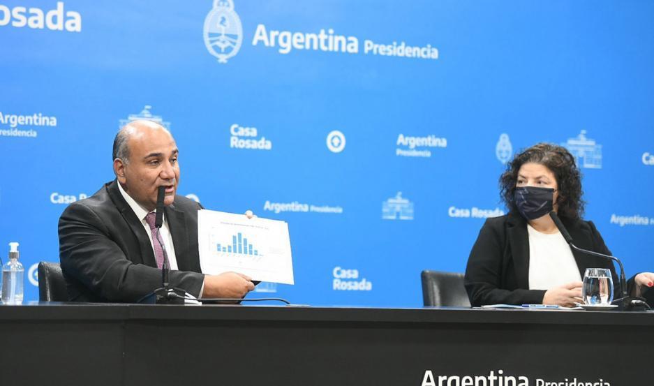 El anuncio estuvo a cargo de Juan Manzur y Carla Vizzotti.