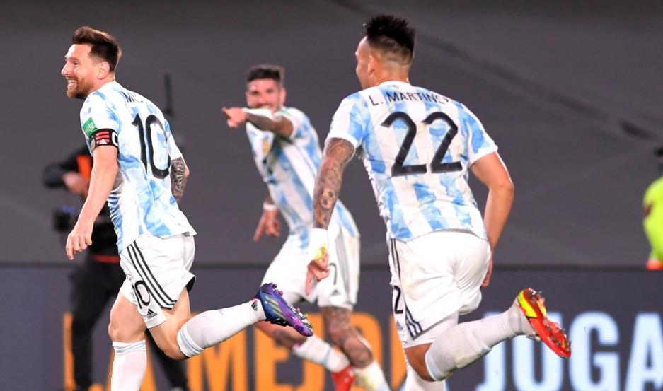 Argentina goleó a Uruguay por las Eliminatorias sudamericanas
