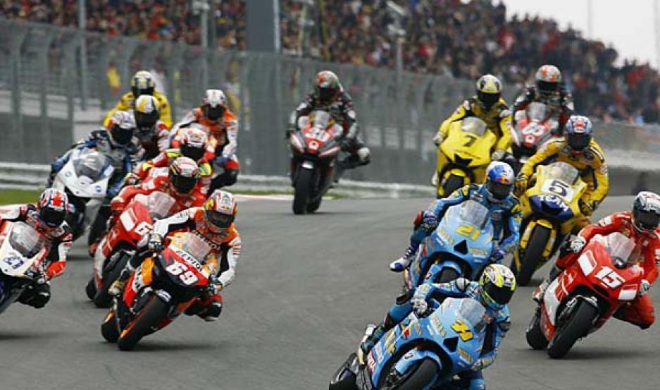 LUJO. Pilotos de la jerarquía de Valentino Rossi y Dani Pedrosa competirán en el asfalto santiagueño.