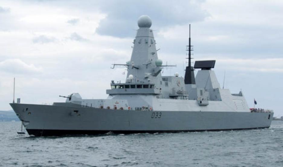 buque de guerra hms dauntless