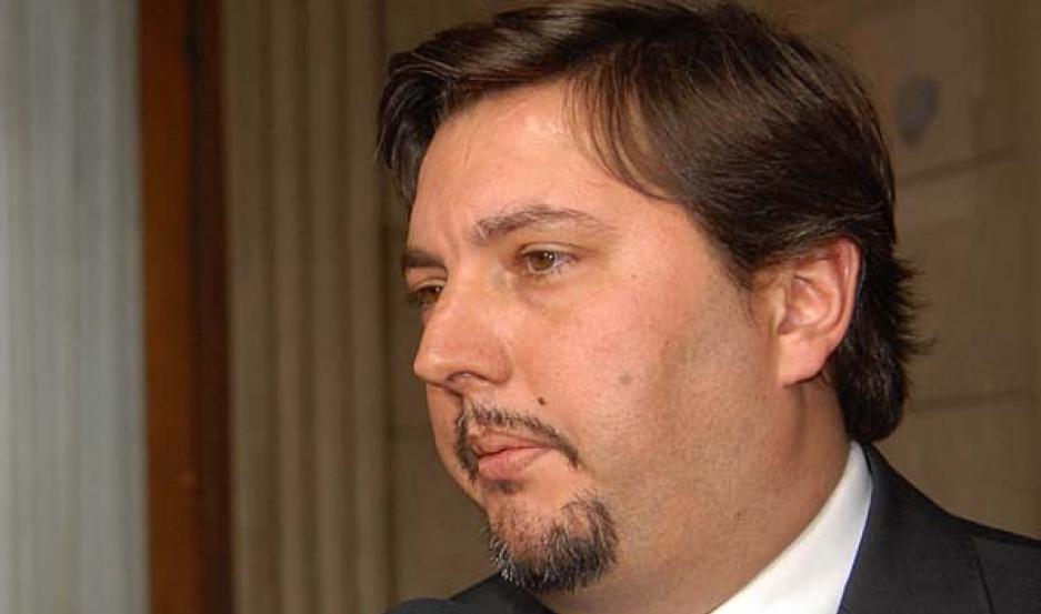 TRABAJO. García destacó la tarea que vienen desarrollando los funcionarios locales en el Comité de Cuenca.