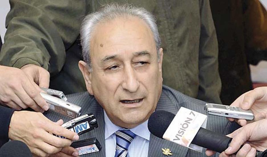 PEDIDO. El ministro habló en la Cumbre de Defensa de las Américas.