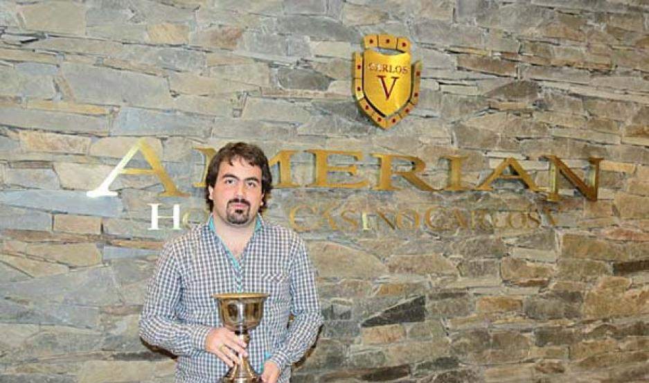 CAMPEÓN Tristán demostró ser un gran maestro en Las Termas.