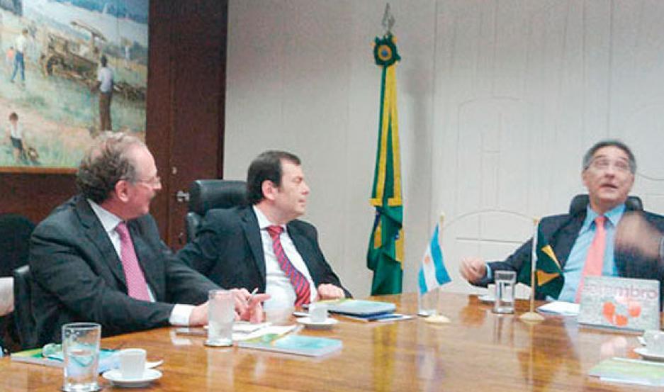 VISITA. El ministro de Industria y Comercio Exterior de Brasil, Fernando Pimentel, vendría a la provincia en octubre.