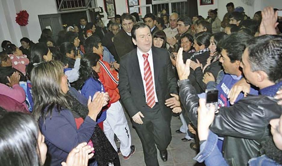 PERONISMO Z. Un plenario de dirigentes organizado en La Banda ratificó su encolumnamiento con Zamora.