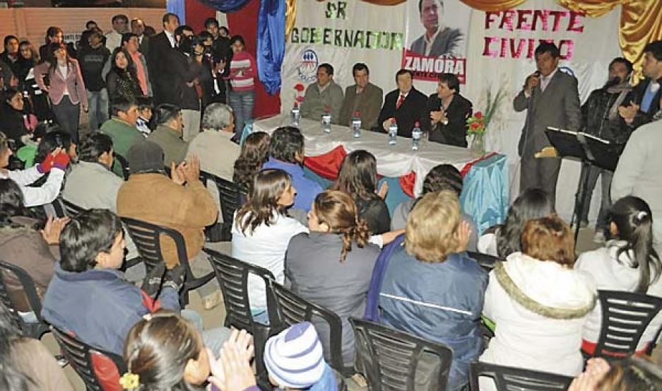 F. POPULAR. Quieren sumar a La Banda al desarrollo de la provincia.