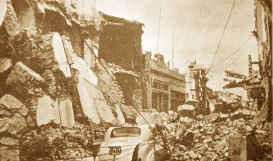 RUINAS. La ciudad tuvo que ser reconstruida.