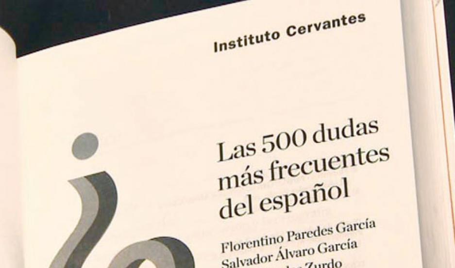 libro del Instituto Cervantes