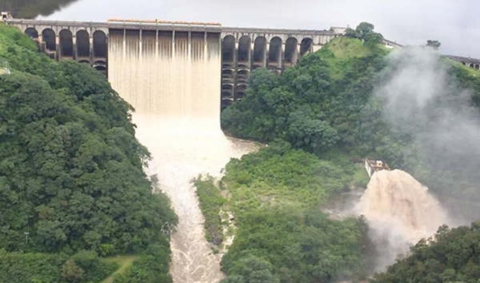 Máxima alerta en Santiago por posibles desbordes del Río Dulce