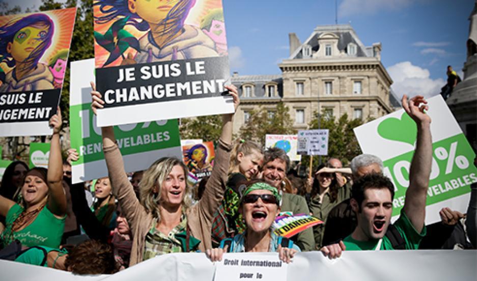 francia marcha clima