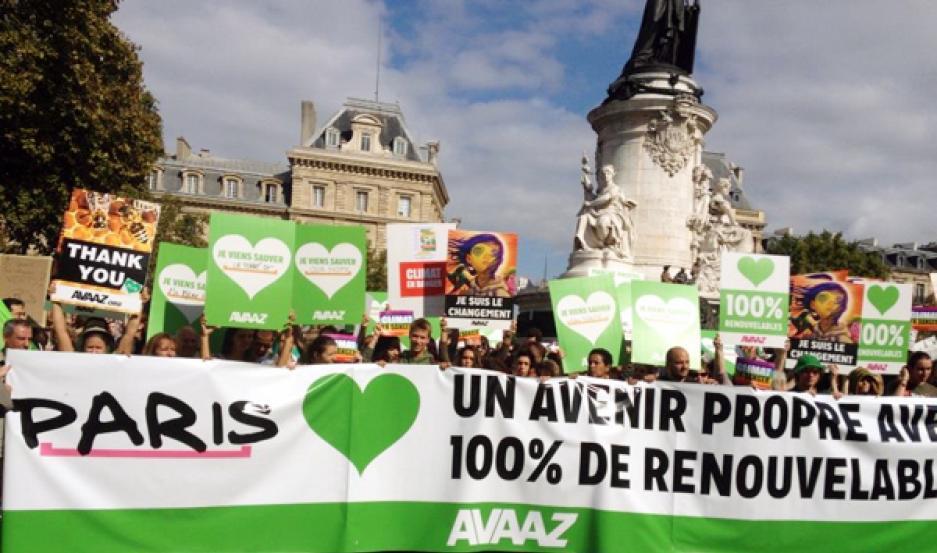 marcha mundial clima paris avaaz