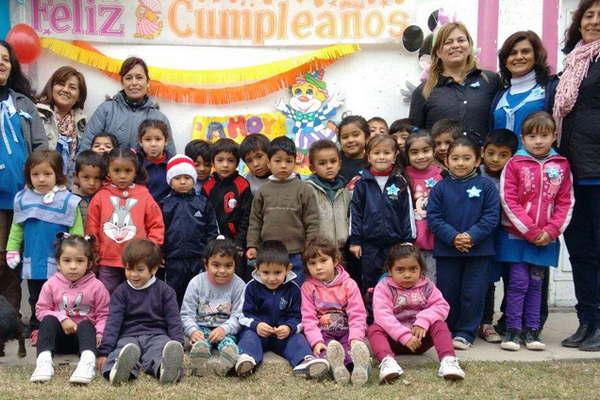 El jard n de infantes del barrio avenida festej sus 29 for Leccion jardin infantes 2016