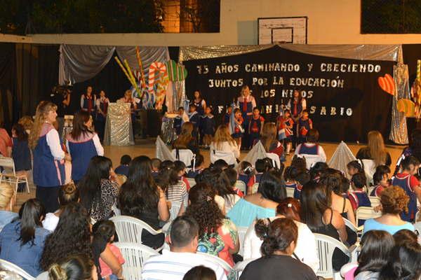 El jard n de infantes nicol s avellaneda celebr sus 75 for Leccion jardin infantes 2016