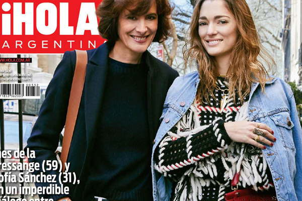 Moda y glamour en la nueva edici n de la revista hola for Revistas argentinas de farandula