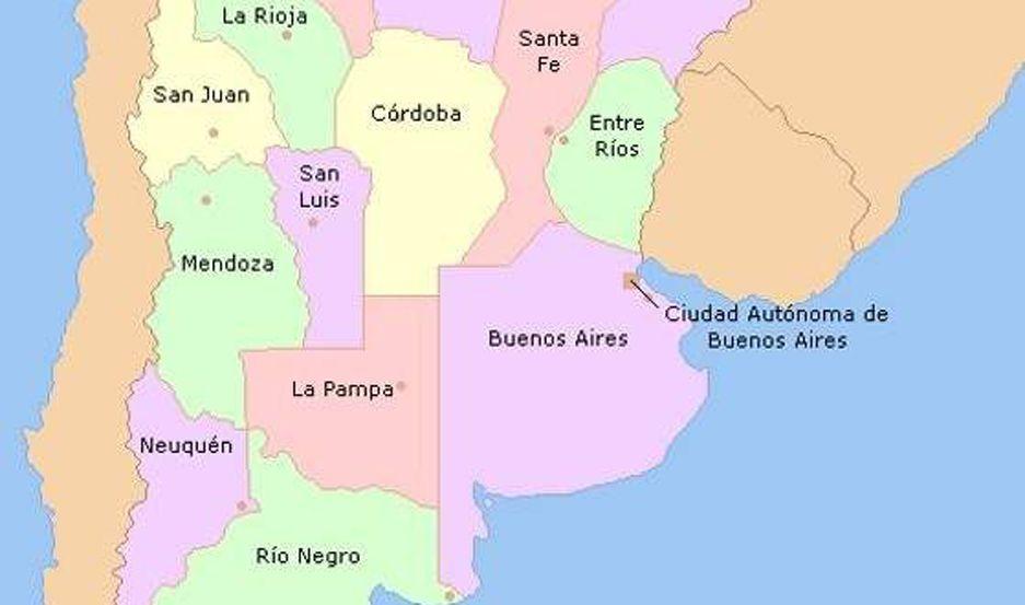 Viral El Mapa Argentino De Una Alumna De Quinto Ano Que Fue Furor En Twitter El Liberal Movil