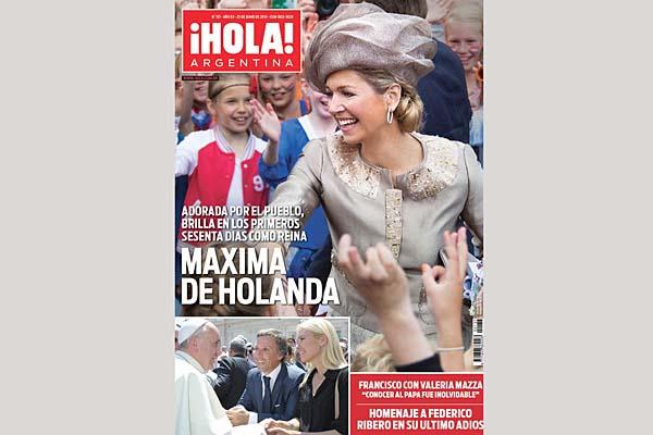M xima de holanda en el nuevo n mero de la revista hola for Revistas argentinas de farandula