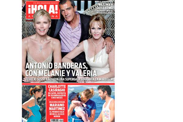 Llega una imperdible edici n de la revista hola for Revistas argentinas de farandula