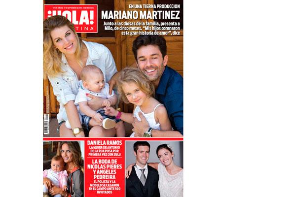 Mariano mart nez imperdible en la revista hola for Revistas argentinas de farandula